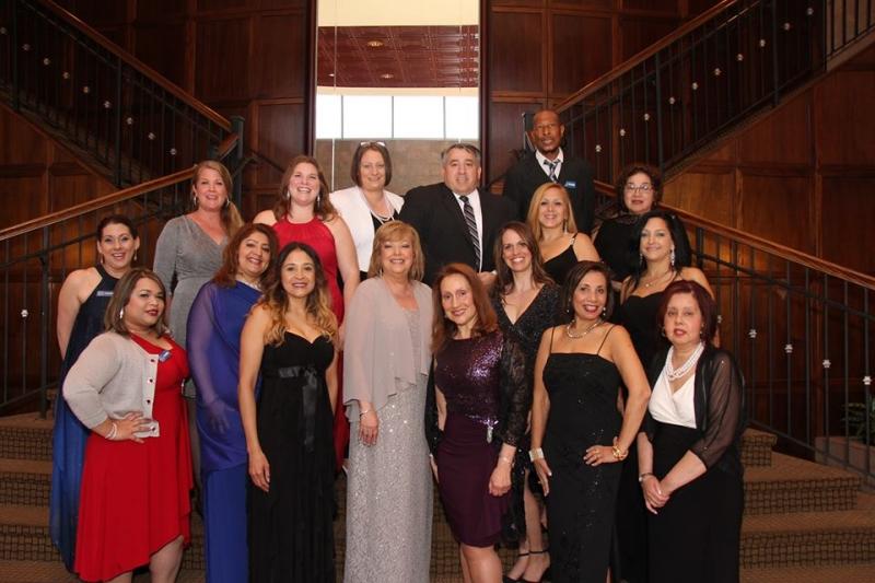 Staff Gala Photo